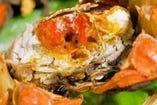 上海蟹を使った贅沢なコースも!