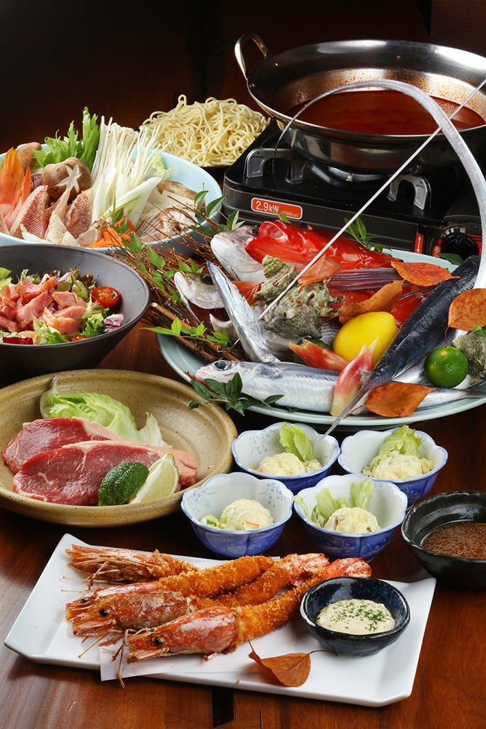 各種宴会コース3000円、4000円、5000円(税別)