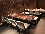 ◎歓送迎会にも最高なテーブル席★18様収容のオシャレなテーブル席個室です★