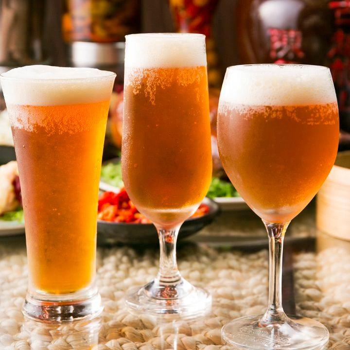 【席のみ予約】当日注文!絶品中華と世界の各国瓶ビールなど
