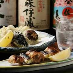 津軽鶏大串焼