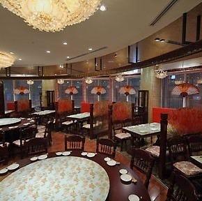香港海鮮飲茶樓 梅田ブリーゼブリーゼ店 店内の画像