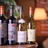 世界各地のワインが揃っています◎