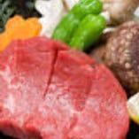 牛ヘレ肉の陶板焼き