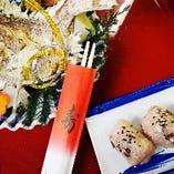 鯛と赤飯のセット