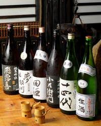 日本酒・地酒は100種以上◎