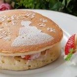 ベルのフルーツパンケーキ