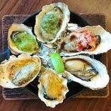 生牡蠣以外にも牡蠣料理を色々楽しめます!