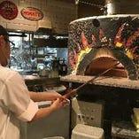 500℃のピザ窯で焼く本格ナポリピッツァ