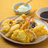 串天ぷら12品盛り合わせ