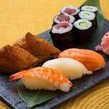 お手軽寿司盛り合わせ