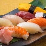 おまかせにぎり寿司盛り合わせ(8貫)