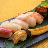 上にぎり寿司盛り合わせ(8貫)