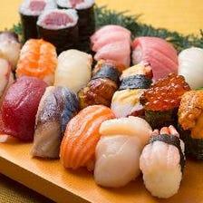 ざこばの寿司(単品各種)で楽しむ