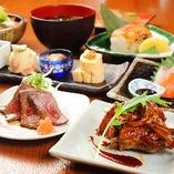 大和の食の魅力を味わい尽くす、6種類の優美なコースがあります