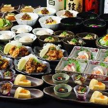 豆腐の葛あんかけや、地野菜の彩りサラダ!大和のおいしさほころぶ「花コース」