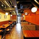 JR奈良駅徒歩2分。個室14名様まで、店内貸切40名様まで利用可能