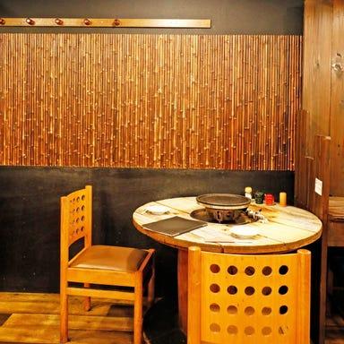朝引き地鶏 石王  店内の画像