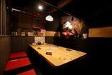 【1F:テーブル個室席】様々なシーンに!