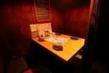 【2F:テーブル個室】デートやご接待に!