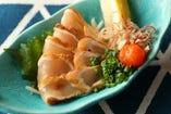 鶏むね肉のタタキポン酢