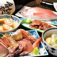 金沢の味覚を楽しむ宴会向けコース