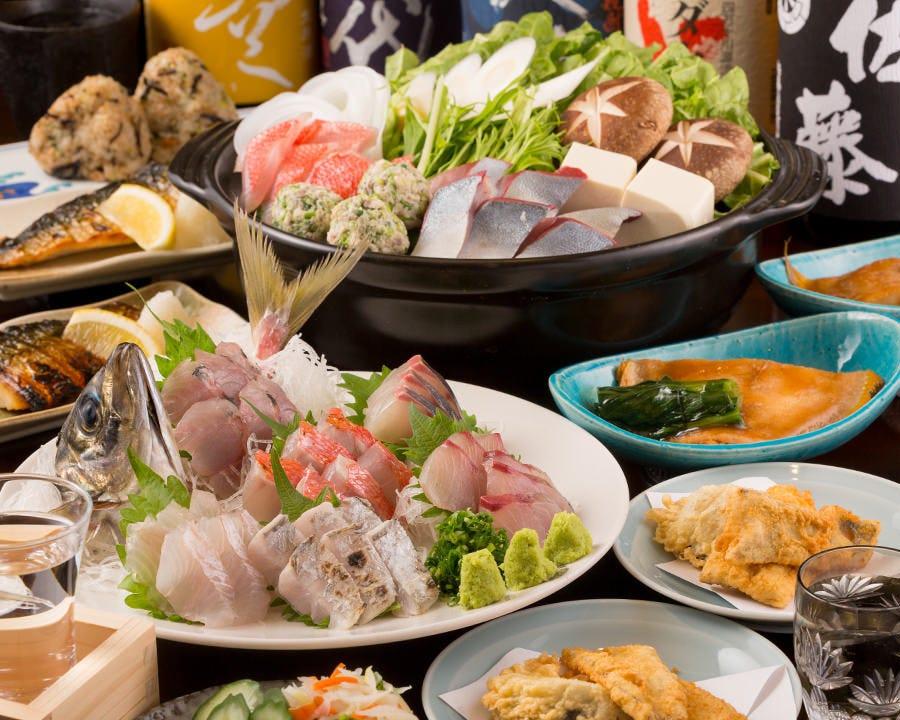 【厳選銘柄多数!約15種類】日本酒好きのおすすめ宴会 鍋コース!5,500円! 2.5時間飲み放題/宴会