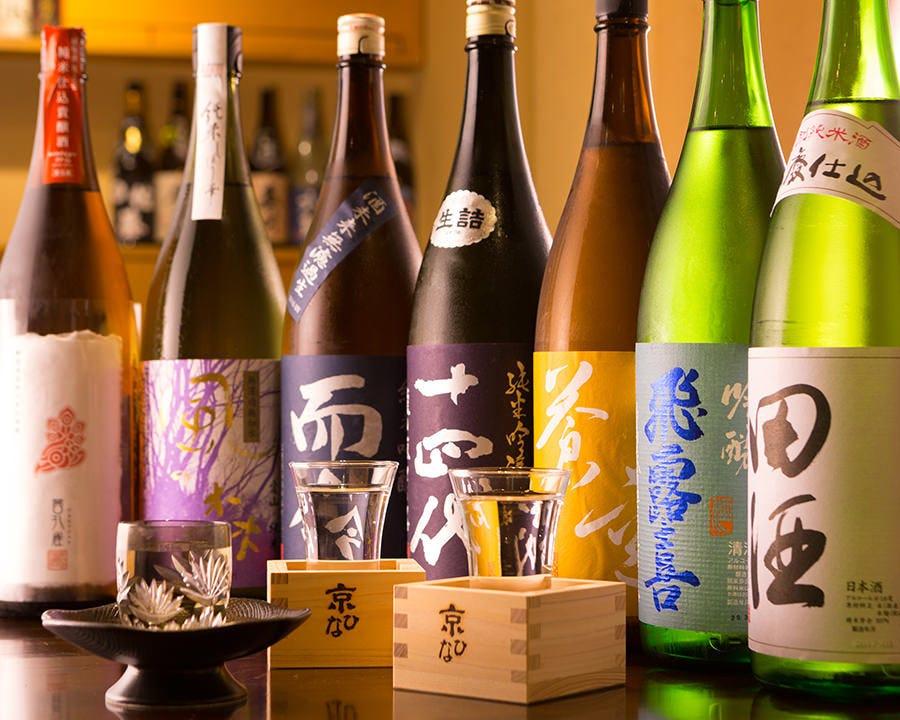 マスター厳選の希少日本酒