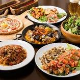 【自慢の逸品】 イタリアン×スペイン料理が気軽に楽しめます