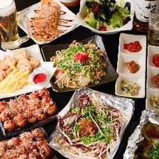たこ焼&逸品料理♪飲放付3,480円~