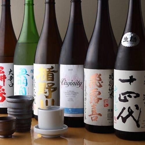 旬な日本酒や限定流通品まで約30種