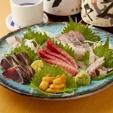 選べるお刺身盛り合わせ 寿盛り(五種)