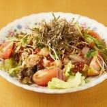 魚と味サラダ