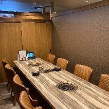 TORAYAの個室空間