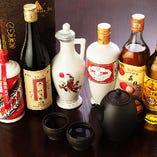 人気の中国酒も多数ご用意しております。