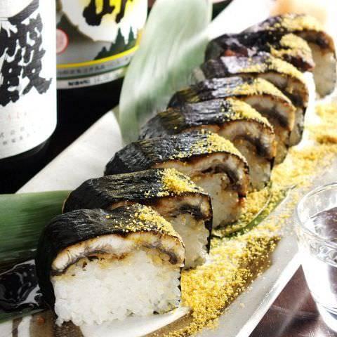 当店自慢の逸品♪うなぎの棒寿司