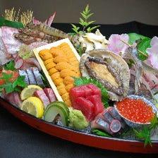 地魚の鮮度と料理の技術に自信有り!