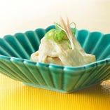 豆乳の旨味そのまま 『生湯葉のお造り』