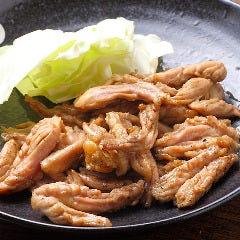【人気 名物料理】せせり焼(塩)