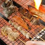 [美味い酒に旨い肴] 旬の魚や美味しい素材を魚串に!
