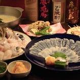 飲み会を華やかに彩るコース料理を豊富にご用意いたしました。