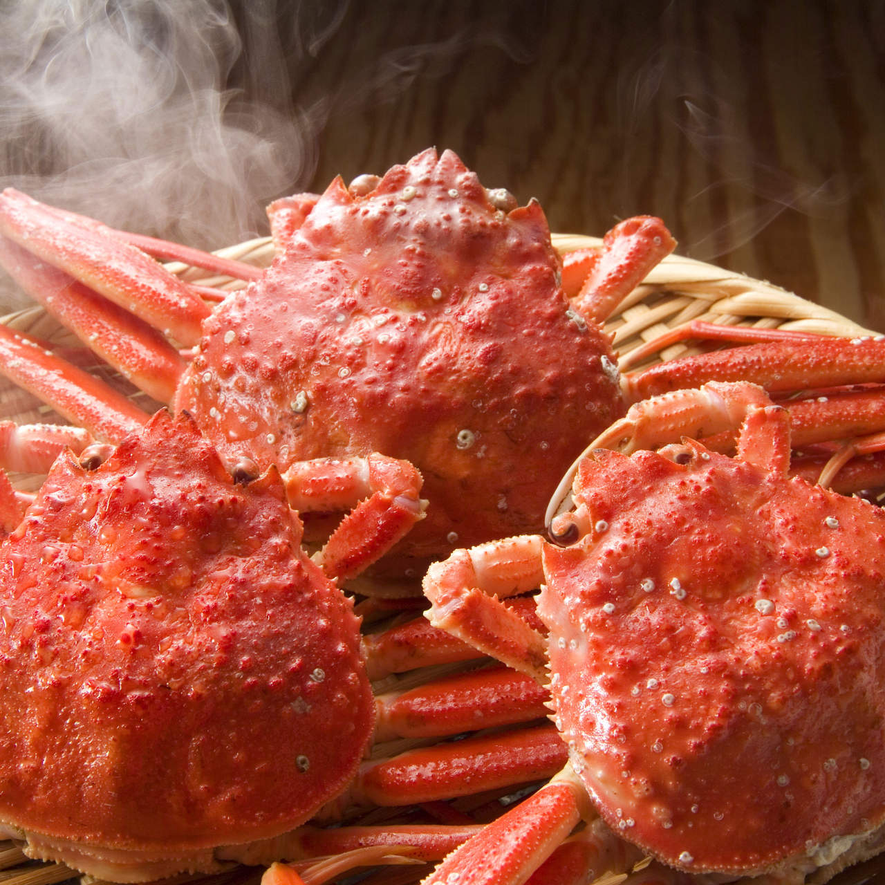 新鮮なずわい蟹を6270円~で食べ放題
