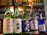 他ではなかなか飲めない酒幸別注品のお酒も豊富に取り揃えてます