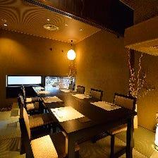 上質な空間と美食で客人をもてなす