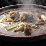 スッポン鍋コース(3名様以上) 鍋を2回お出しする!スッポンを十分に味わって頂くコース