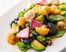 【おすすめ】季節野菜の炒め物