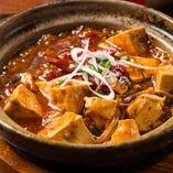 多彩なスパイスが織り成すコク深さとやみつきの辛さ『四川麻婆豆腐』