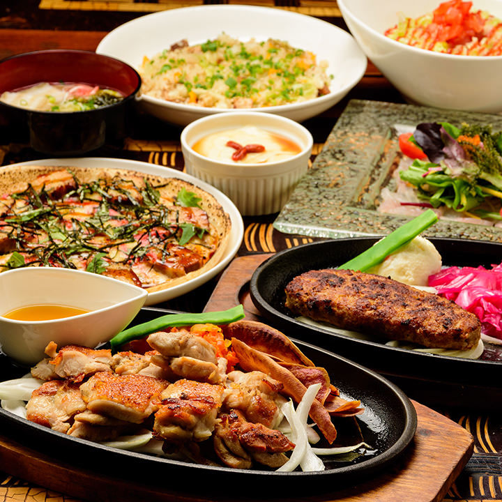 県産食材を使った名物&創作料理!