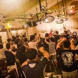 沖縄民謡 三線生ライブ毎日開催中♪ 20:30までのご予約・ご来店で鑑賞していただけます!