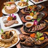 県産食材を使った名物&創作料理の数々!